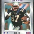 New England Patriots Ben Coates 1995 Sports Illustrated For Kids Football Card # 372