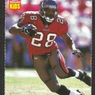 Tampa Bay Buccaneers Bucs Warrick Dunn 1998 Sports Illustrated For Kids Football Card # 704