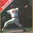 Boston Red Sox Mike Paxton 1977 Pinup Photo