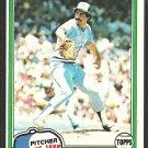 Toronto Blue Jays Paul Mirabella 1981 Topps Baseball Card # 382 nr mt