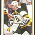 Boston Bruins Ray Bourque 1991 O-Pee-Chee Premier OPC Hockey Card # 119