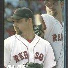 2005 Boston Red Sox Pocket Schedule Alan Embree Papa Ginos