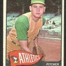 Kansas City Athletics Jose Santiago 1965 Topps Baseball Card # 557 good