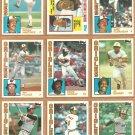 1984 Topps Baltimore Orioles Team Lot Eddie Murray Jim Palmer Al Bumbry Mike Flanagan Rick Dempsey