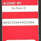 1980s Boston Red Sox Season Ticket Identification Ticket