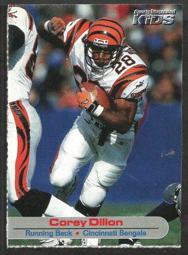 Cincinnati Bengals Corey Dillon 2002 Sports Illustrated For Kids Football Card # 118