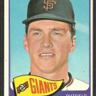 San Francisco Giants Cap Peterson 1965 Topps Baseball Card # 512 ex mt