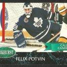 Toronto Maple Leafs Felix Potvin 1992 Parkhurst Hockey Card # 187