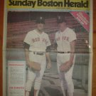 1986 Boston Red Sox Bob Stanley Joe Sambito Newspaper Poster