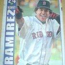 Boston Red Sox Manny Ramirez 2004 Newspaper Poster