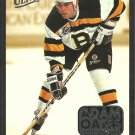 Boston Bruins Adam Oates Career Highlights 1993 Fleer Ultra Insert # 2