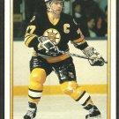 Boston Bruins Ray Bourque 1990 O Pee Chee Premier OPC Hockey Card # 9