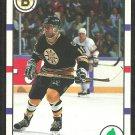 Boston Bruins Bob Carpenter 1990 Score Hockey Card # 16