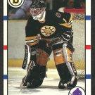 Boston Bruins Reggie Lemelin 1990 Score Hockey Card # 159