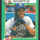 Seattle Mariners Ken Griffey 1990 Sports Illustrated For Kids Baseball Card # 158