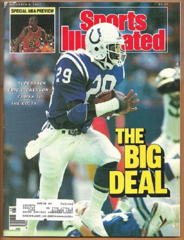 1987 Sports Illustrated Indianapolis Colts NBA Preview Michael Jordan Notre Dame Thomas Hearns
