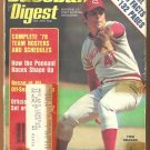 1978 Baseball Digest Cincinnati Reds Tom Seaver Detroit Tigers Mark Fidrych Boston Red Sox Athletics