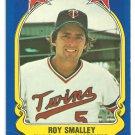 Minnesota Twins Roy Smalley 1981 Fleer Star Sticker Baseball Card # 55
