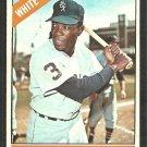 Chicago White Sox Floyd Robinson 1966 Topps Baseball Card # 8  vg/ex