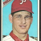 Philadelphia Phillies Ray Culp 1966 Topps Baseball Card # 4 vg