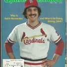 1980 Sports Illustrated Baseball Issue St Louis Cardinals Florida Derby Long Beach Grand Prix