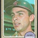 California Angels Paul Schaal 1968 Topps Baseball Card # 474 ex