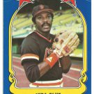San Francisco Giants Vida Blue 1981 Fleer Star Sticker Baseball Card # 63