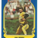 Pittsburgh Pirates Jim Bibby 1981 Fleer Star Sticker Baseball Card # 65