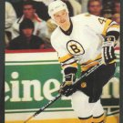 Boston Bruins Bob Sweeney ca 1980s Postcard # 42