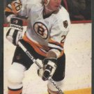 Boston Bruins Glen Wesley ca 1980s Postcard # 26