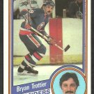 New York Islanders Bryan Trottier 1984 Topps Hockey Card # 104 nr mt