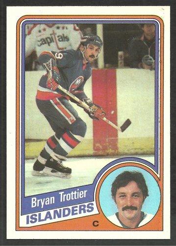 New York Islanders Bryan Trottier 1984 Topps Hockey Card # 104 nr mt