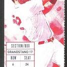 Seattle Mariners Boston Red Sox 2015 Ticket 5 hr Franklin Gutierrez Nelson Cruz Robinson Cano