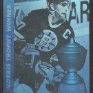Boston Bruins Ray Bourque 1991 Upper Deck Award Winner Hologram Hockey Card # 5