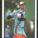 Montreal Expos Randy Johnson Rookie Card RC 1989 Score Baseball Card # 645