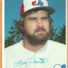 Montreal Expos Larry Parrish 1980 Topps Super Baseball Card # 53 ex greyback