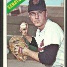 Washington Senators Ken Hamlin 1966 Topps Baseball Card # 69 ex/em