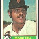 San Francisco Giants Marc Hill 1976 Topps Baseball Card # 577 vg
