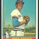 Texas Rangers Mike Kekich 1976 Topps Baseball Card # 582 vg/ex