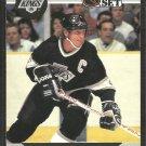 Los Angeles Kings Wayne Gretzky 1990 Pro Set Hockey Card # 118