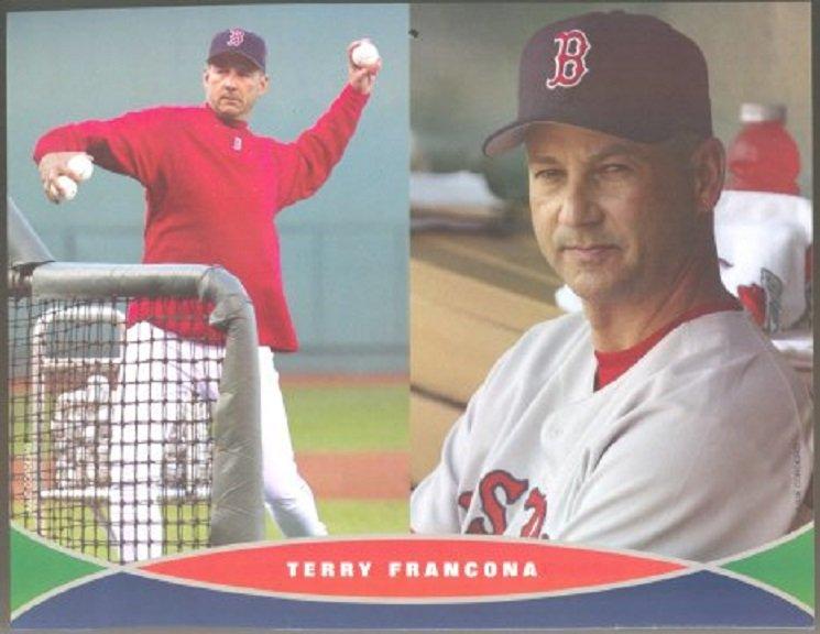 Boston Red Sox Terry Francona 2006 Pinup Photo