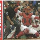 Boston Red Sox Jason Varitek + World Series Victory Parade 2005 Pinup Photos
