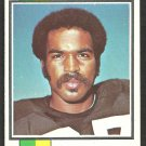 Oakland Raiders Raymond Chester 1973 Topps Football Card # 520 vg/ex