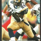 St Louis Rams Marshall Faulk 2001 Sports Illustrated For Kids Football Card # 86