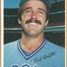 Toronto Blue Jays Rick Bosetti 1980 Topps Super # 51 Gray Back Variation ex/em