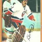 New York Islanders Glenn Resch 1977 Topps Insert Hockey Card # 17
