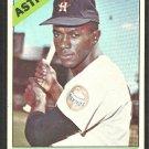 Houston Astros Joe Gaines 1966 Topps Baseball Card # 122 vg/ex
