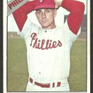 Philadelphia Phillies Ray Herbert 1966 Topps Baseball Card # 121 vg