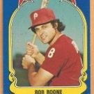 Philadelphia Phillies Bob Boone 1981 Fleer Star Sticker Baseball Card # 79