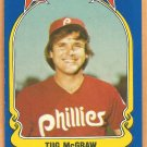 Philadelphia Phillies Tug McGraw 1981 Fleer Star Sticker Baseball Card # 83